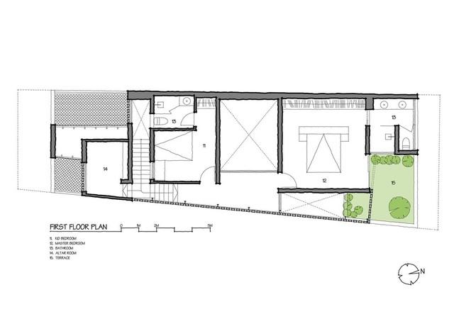 Lạ lẫm nhưng vô cùng bắt mắt với ngôi nhà ngói 3 gian xếp dọc theo mảnh đất hình ống rộng gần 300m² ở Trà Vinh - Ảnh 24.