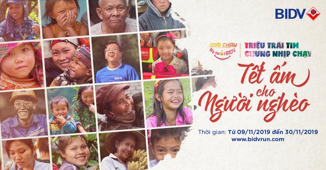 Khởi động giải chạy Nụ cười BIDV - Tết ấm cho người nghèo 2020 ngày 9/11 - Ảnh 1.