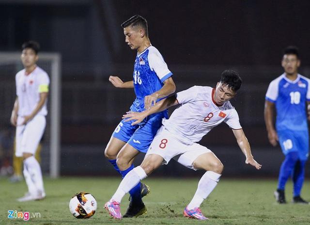 U19 Việt Nam thắng Mông Cổ 3-0 ở vòng loại giải châu Á - Ảnh 1.