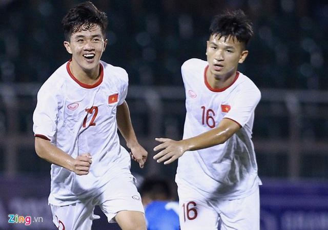 U19 Việt Nam thắng Mông Cổ 3-0 ở vòng loại giải châu Á - Ảnh 2.