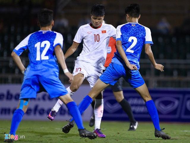 U19 Việt Nam thắng Mông Cổ 3-0 ở vòng loại giải châu Á - Ảnh 12.