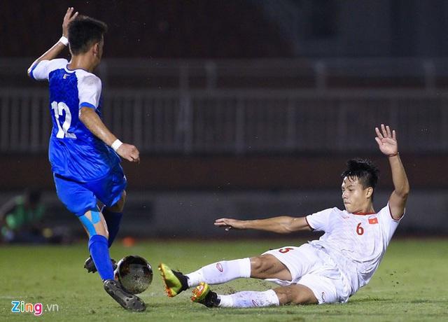 U19 Việt Nam thắng Mông Cổ 3-0 ở vòng loại giải châu Á - Ảnh 14.