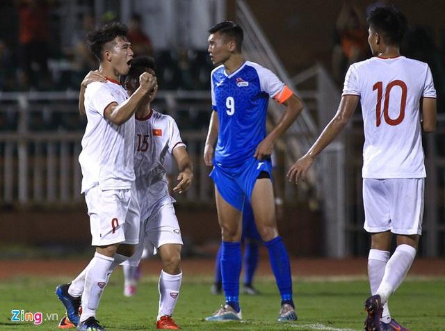 U19 Việt Nam thắng Mông Cổ 3-0 ở vòng loại giải châu Á - Ảnh 17.