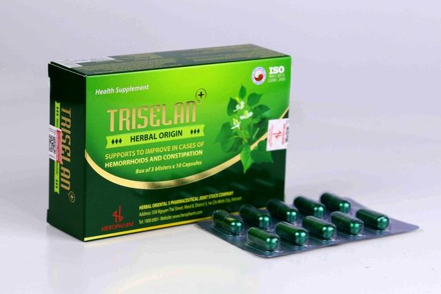 Thực phẩm bảo vệ sức khỏe Triselan+ giải pháp hỗ trợ điều trị triệu chứng trĩ, táo bón và suy giãn tĩnh mạch - Ảnh 4.