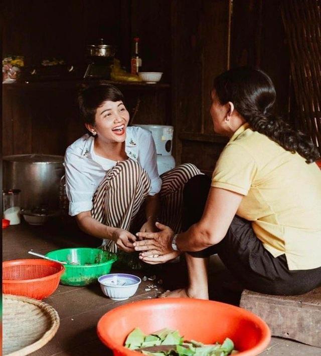 Hoa hậu nghèo nhất Việt Nam chia sẻ mâm cơm, chứng minh bản thân không giản dị  - Ảnh 6.