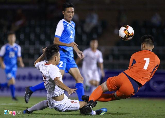 U19 Việt Nam thắng Mông Cổ 3-0 ở vòng loại giải châu Á - Ảnh 8.
