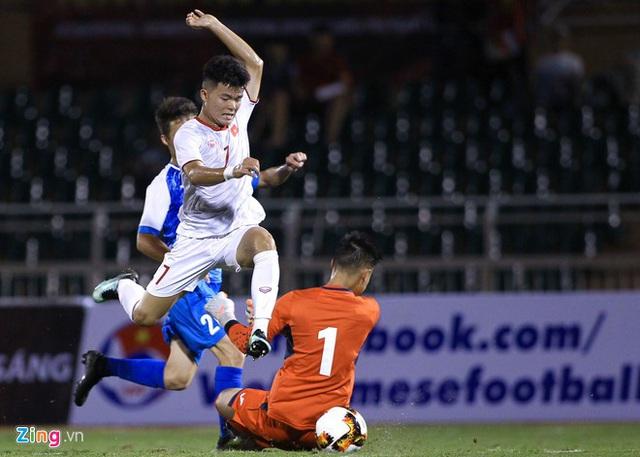 U19 Việt Nam thắng Mông Cổ 3-0 ở vòng loại giải châu Á - Ảnh 10.