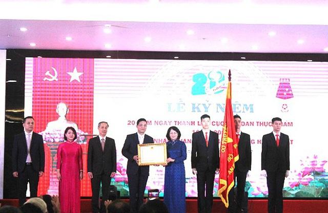 Cục An toàn thực phẩm được Chủ tịch nước tặng thưởng Huân chương Lao động hạng Nhất - Ảnh 1.