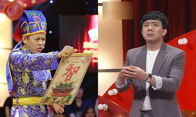 Trấn Thành, Trường Giang, Ngô Kiến Huy bị bắt quỳ gối giữa sân khấu - Ảnh 2.