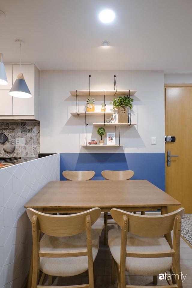 Căn hộ 60m² vừa xinh vừa ấm cúng của mẹ đơn thân ở TP. HCM là niềm mơ ước của bao người, đặc biệt là khu bếp - Ảnh 12.