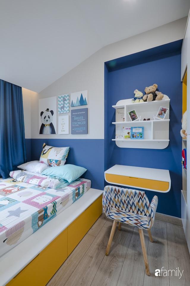 Căn hộ 60m² vừa xinh vừa ấm cúng của mẹ đơn thân ở TP. HCM là niềm mơ ước của bao người, đặc biệt là khu bếp - Ảnh 19.