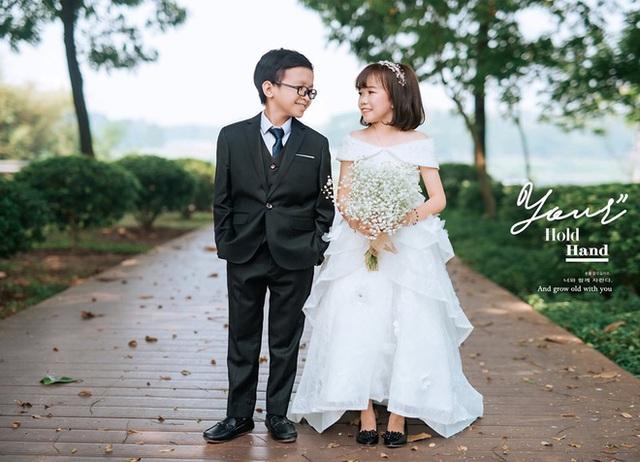 Đám cưới cặp đôi tí hon như học sinh lớp 1 gây bão trên MXH khiến nhiều người xúc động - Ảnh 6.
