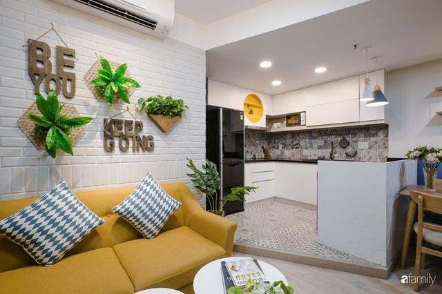 Căn hộ 60m² vừa xinh vừa ấm cúng của mẹ đơn thân ở TP. HCM là niềm mơ ước của bao người, đặc biệt là khu bếp - Ảnh 6.