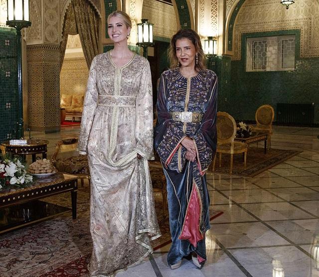 Ivanka Trump dự tiệc với Công chúa Morocco - Ảnh 1.