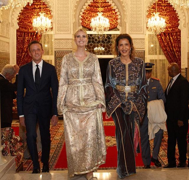Ivanka Trump dự tiệc với Công chúa Morocco - Ảnh 2.