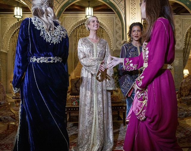 Ivanka Trump dự tiệc với Công chúa Morocco - Ảnh 3.