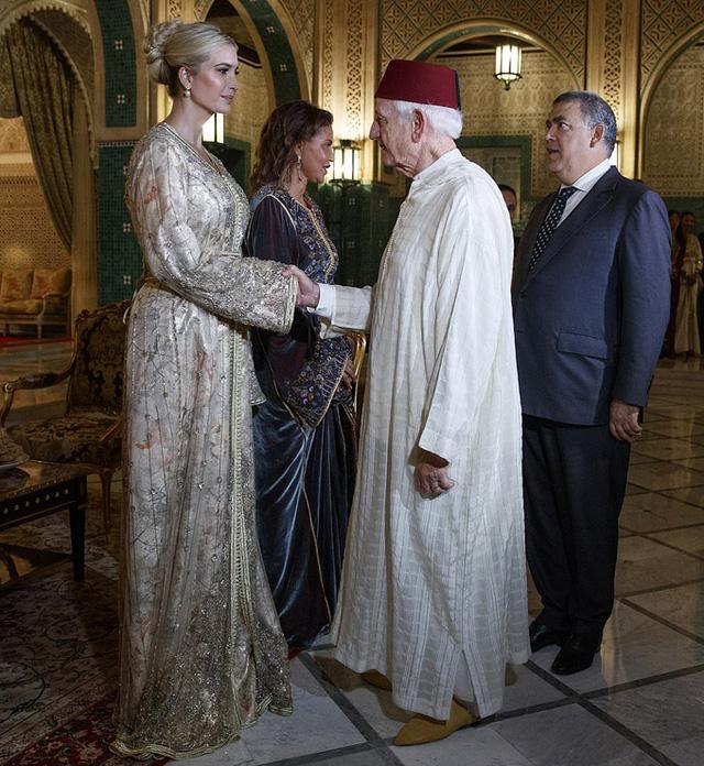 Ivanka Trump dự tiệc với Công chúa Morocco - Ảnh 4.