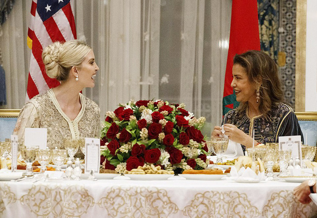 Ivanka Trump dự tiệc với Công chúa Morocco - Ảnh 6.