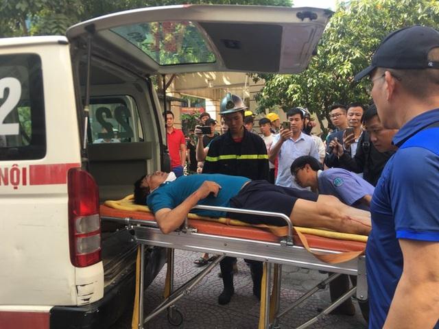 Hà Nội: Cháy căn hộ chung cư, một người bị thương nhẹ  - Ảnh 3.