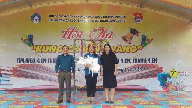 Hội thi Rung chuông vàng tìm hiểu sức khỏe sinh sản vị thành niên, thanh niên - Ảnh 3.