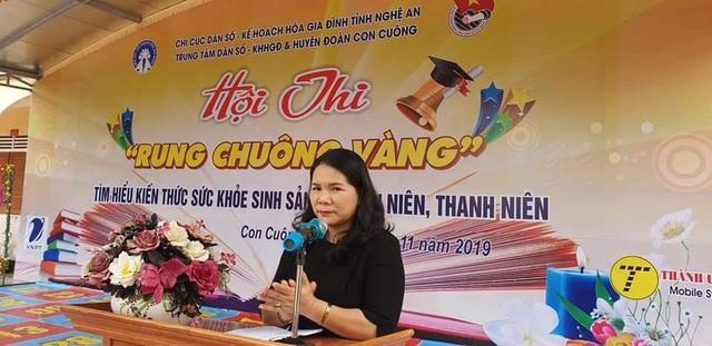 Hội thi Rung chuông vàng tìm hiểu sức khỏe sinh sản vị thành niên, thanh niên - Ảnh 2.