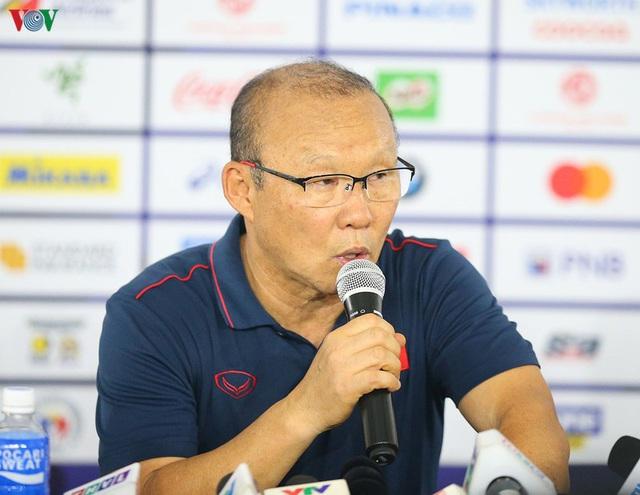 HLV Park Hang Seo nói gì về cú lội ngược dòng giành chiến thắng 2- 1của U22 Việt Nam trước tuyển Indonesia - Ảnh 2.