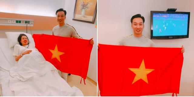 Nghệ sĩ Việt vỡ òa cảm xúc khi U22 Việt Nam viết nên lịch sử tại SEA Games 30 - Ảnh 1.
