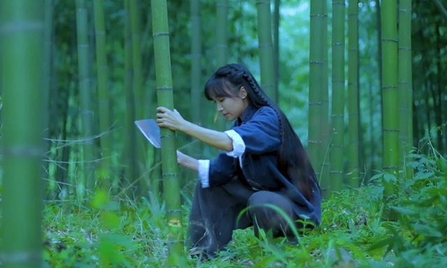 Tiên nữ Lý Tử Thất hứng búa rìu dư luận vì các video dân dã  - Ảnh 1.