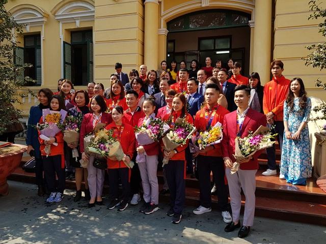 Hải Phòng thưởng nóng cho các VĐV và HLV đạt thành tích cao tại Sea Games 30 - Ảnh 2.
