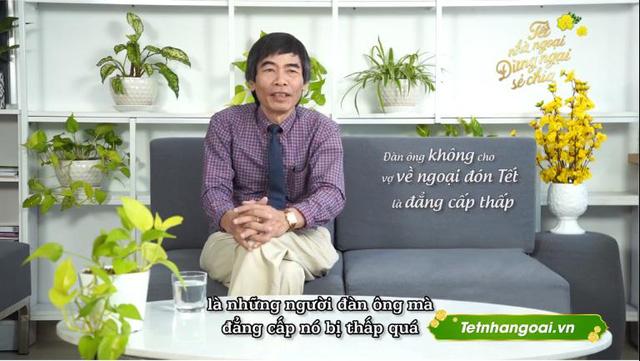 """Chỉ trích """"đàn ông không cho vợ về ngoại ăn tết là đẳng cấp thấp"""", TS Lê Thẩm Dương làm dậy sóng cộng đồng mạng - Ảnh 1."""