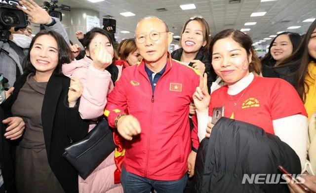 Giúp U22 Việt Nam vô địch SEA Games, thầy Park được chào đón nồng nhiệt tại Hàn Quốc - Ảnh 4.
