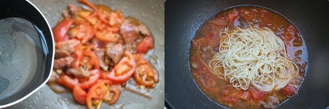 Tối về muộn, tôi làm nồi mì bò cà chua, cả nhà vừa ăn vừa tấm tắc khen ngon - Ảnh 4.