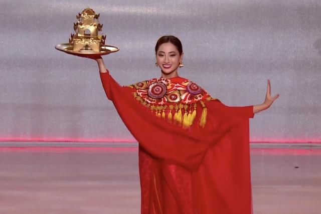 Đạt thành tích tốt nhất ở Miss World, Lương Thuỳ Linh vẫn bị chê nhiều thiếu sót - Ảnh 4.