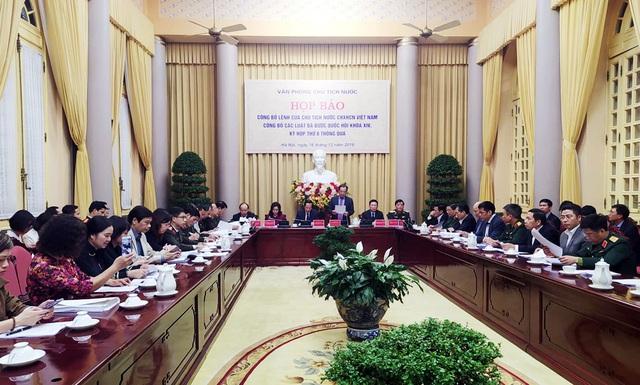 Công bố Lệnh của Chủ tịch nước đối với 11 Luật vừa được Quốc hội thông qua - Ảnh 1.