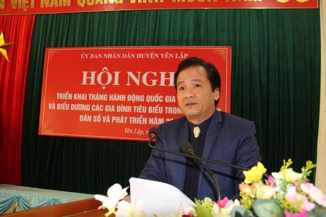 Phú Thọ: Tổ chức Hội nghị triển khai Tháng Hành động Quốc gia về Dân số - Ảnh 1.