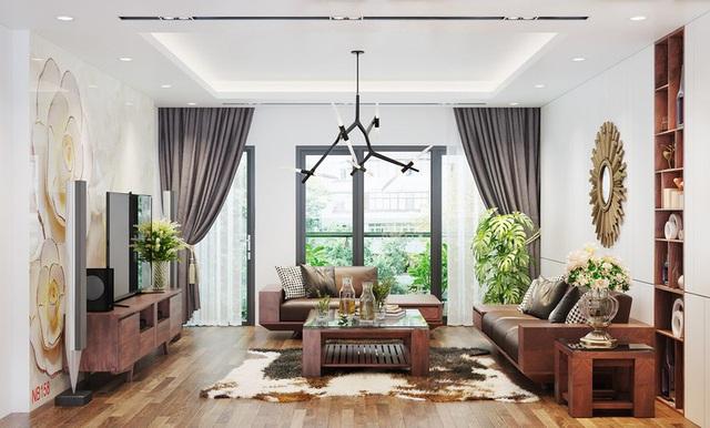 Căn nhà sang trọng, tinh tế nhờ sử dụng nội thất gỗ - Ảnh 2.