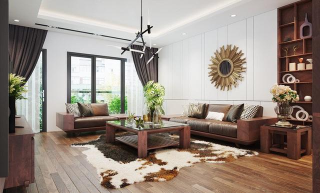 Căn nhà sang trọng, tinh tế nhờ sử dụng nội thất gỗ - Ảnh 3.