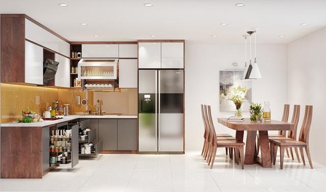 Căn nhà sang trọng, tinh tế nhờ sử dụng nội thất gỗ - Ảnh 5.
