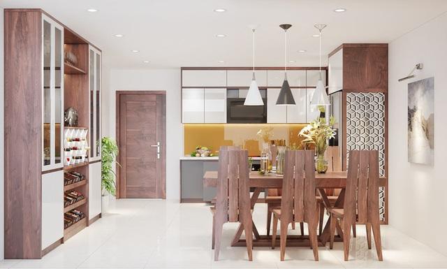 Căn nhà sang trọng, tinh tế nhờ sử dụng nội thất gỗ - Ảnh 6.