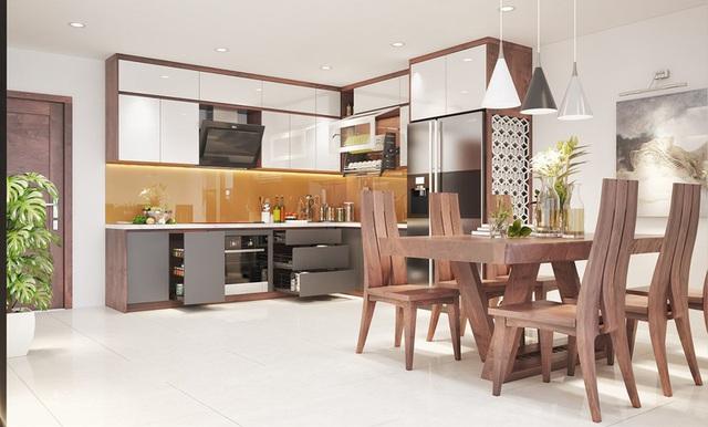 Căn nhà sang trọng, tinh tế nhờ sử dụng nội thất gỗ - Ảnh 7.