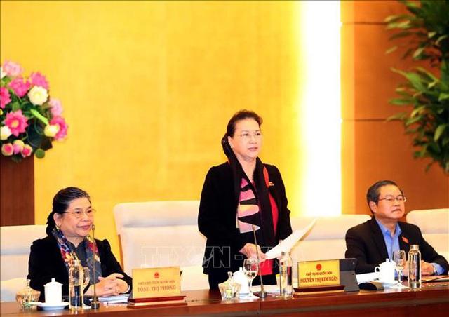 Bế mạc Phiên họp thứ 40 của Ủy ban Thường vụ Quốc hội  - Ảnh 1.