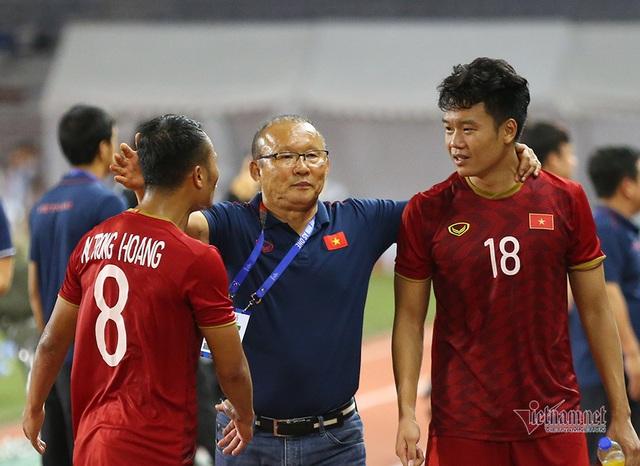 Lộ câu bùa chú của thầy Park giữa trận đấu khiến U22 Việt Nam lội ngược dòng thắng Indonesia 2-1 - Ảnh 3.