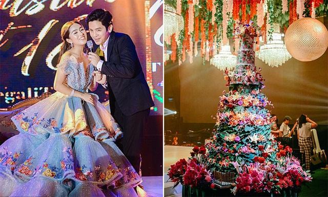 Tiệc mừng tuổi 18 phong cách con nhà siêu giàu châu Á - Ảnh 3.