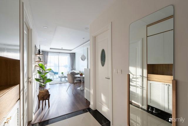 Căn hộ hai phòng ngủ mang hơi thở Bắc Âu trong lành và ngọt ngào giữa lòng Hà Nội - Ảnh 4.