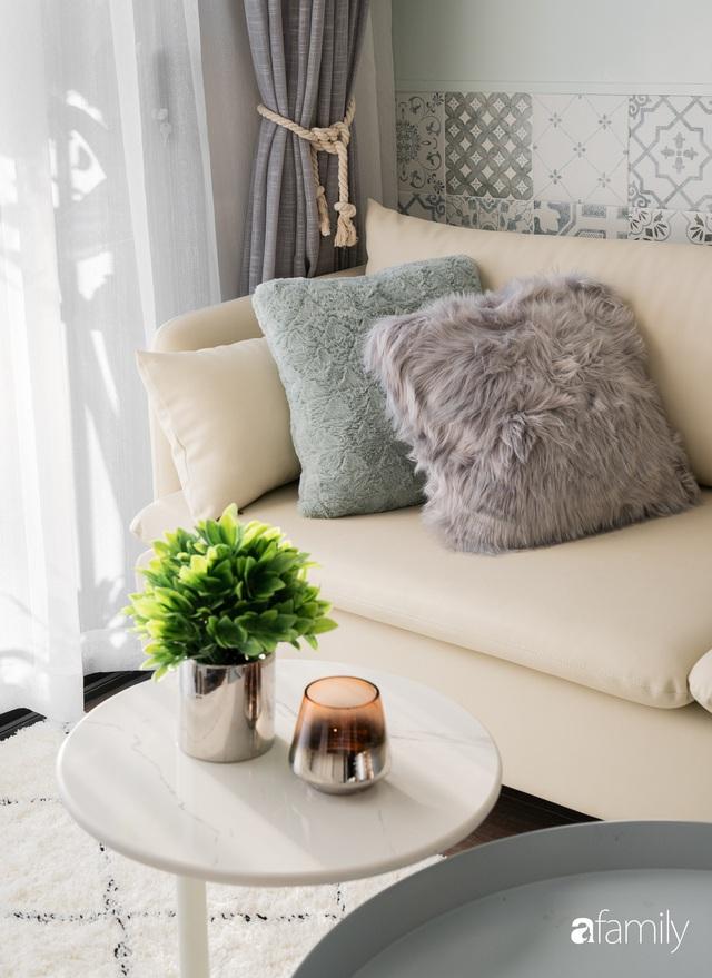 Căn hộ hai phòng ngủ mang hơi thở Bắc Âu trong lành và ngọt ngào giữa lòng Hà Nội - Ảnh 7.