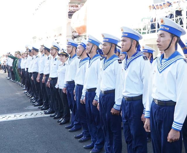 Xúc động lễ xuất quân làm nhiệm vụ tại quần đảo Trường Sa - Ảnh 5.