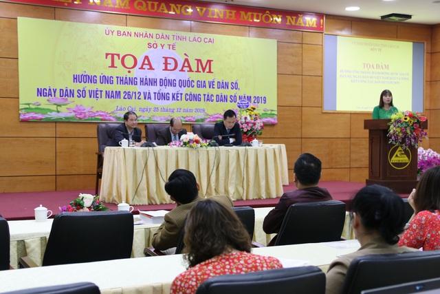 Lào Cai tọa đàm hưởng ứng tháng hành động quốc gia về Dân số - Ảnh 3.