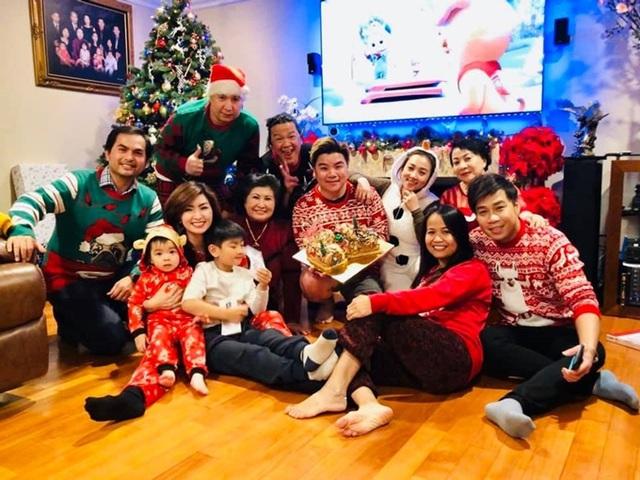 Danh hài Việt Hương và loạt nghệ sĩ hải ngoại đón Giáng sinh - Ảnh 8.