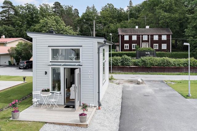 Ngôi nhà nhỏ rộng vỏn vẹn 19m² vẫn hiện lên xinh xắn với đầy đủ tiện nghi, ai yêu thích cuộc sống độc lập cũng thích - Ảnh 2.