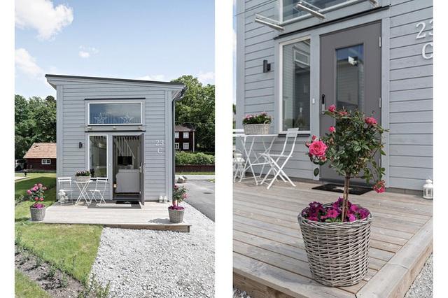 Ngôi nhà nhỏ rộng vỏn vẹn 19m² vẫn hiện lên xinh xắn với đầy đủ tiện nghi, ai yêu thích cuộc sống độc lập cũng thích - Ảnh 3.